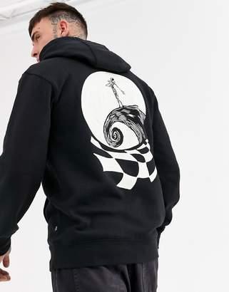 Vans x Disney Nightmare Before Christmas Sketchy Jack hoodie in black