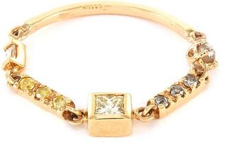Xiao Wang 'Astro' diamond 18k gold ring