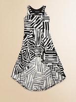 Un Deux Trois Girl's Hi-Lo Princess Dress