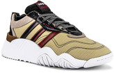 Alexander Wang adidas by Turnout Trainer Sneaker in Core Black & Light Brown & Bright Red | FWRD