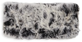 Belle Fare Dyed Rex Rabbit Fur Headband