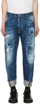 DSQUARED2 Blue Workwear Jeans
