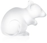 Lalique Mouse Figurine