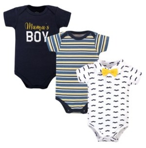 Little Treasure Baby Boys Bodysuits