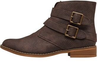 Rocket Dog Womens Margel Sneaky Ankle Boots Brown