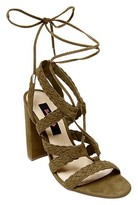 Betseyville by Betsey Johnson Women's Can't Stop Block Heel Gladiator Sandals -