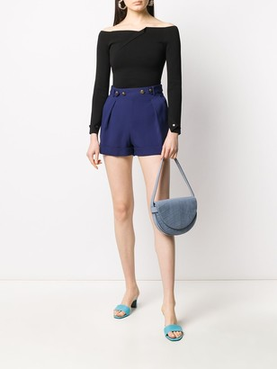 Philosophy di Lorenzo Serafini high-rise buttoned shorts