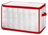 Whitmor Zipper Cube Christmas Ornament Organizer - Red (Large)