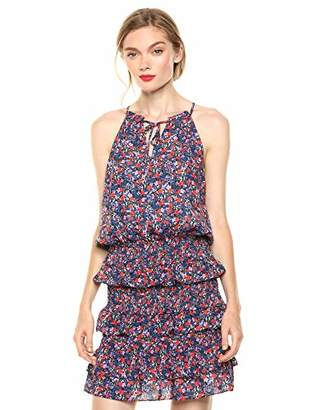 Parker Women's Karolina Sleeveless Tie Neck Smocked Dress