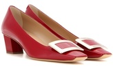 Roger Vivier Décolleté Belle Vivier Patent Leather Pumps