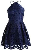 Chi Chi London Petite KAYLEIGH Cocktail dress / Party dress navy