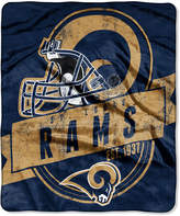 Northwest Company St. Louis Rams Grand Stand Plush Throw Blanket