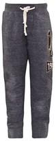 Scotch Shrunk Grey Textured Sweat Pants