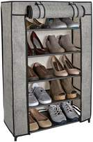 Kennedy International Inc. Simplify 5 Tier Shoe Organizer with Cover