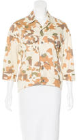 Steven Alan Camouflage Button-Up Top