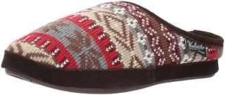 Woolrich Women's Whitecap Knit Mule Slip On Slipper