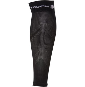 Pro Touch Unisex Running Compression Calf Sleeve Black