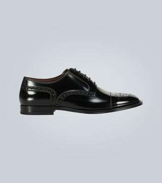 Dolce & Gabbana Formal Marsala derby shoes