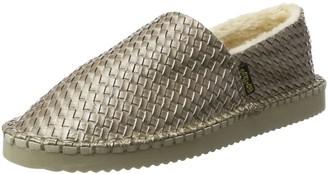 Flip*Flop Women's flippadrillabraid Metallic Espadrilles