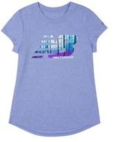 New Balance Girls' Short Sleeve Graphic Tee.