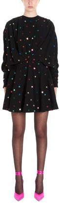 ATTICO Gathered Star Detail Dress
