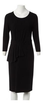 Armani Collezioni Black Viscose Dresses