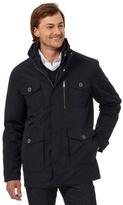 Jeff Banks Navy 2-in-1 Square Pocket Jacket