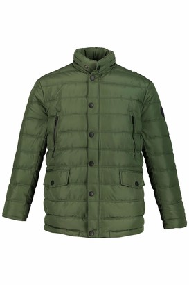 JP 1880 Men's Big & Tall Quilted Jacket Forest Green XXX-Large 723366 49-3XL