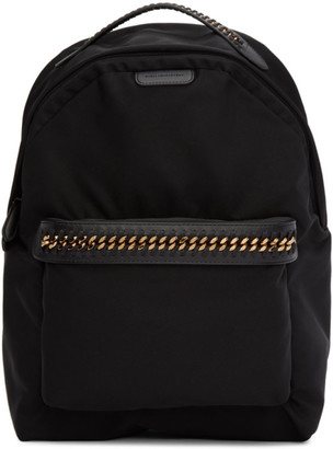 Stella McCartney Black Falabella Backpack