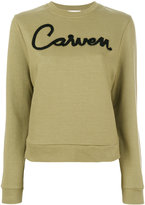 Carven printed sweatshirt - women - Cotton - S
