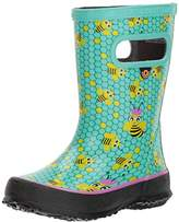 Bogs Skipper Kids Waterproof Rubber Rain Boot for Boys and Girls
