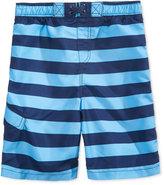 Kanu Surf Troy Striped Swim Trunks, Toddler, Little (2T-7), & Big Boys (8-20)
