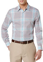 Perry Ellis Large Ombre Check Sportshirt