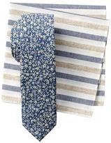 Original Penguin Romoni Floral Tie & Pocket Square Set