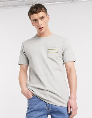 Carrots Rugby pocket t-shirt in gray