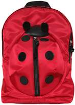 Dolce & Gabbana Ladybug Nylon & Leather Backpack
