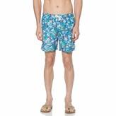 Original Penguin Packable Floral Print Swim Short