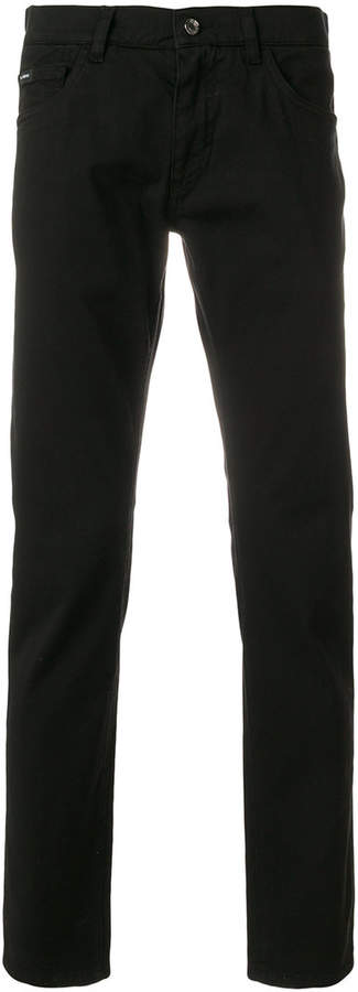 Dolce & Gabbana regular fitted jeans