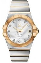 Omega 123.20.38.21.52.002 Constellation Men's 38MM Dial Watch
