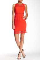 Muse M3281M Sleeveless Crochet Sheath Dress