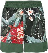 Christian Pellizzari floral print swim shorts - men - Nylon - 46