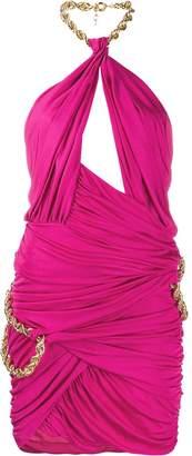 Moschino chain detail dress