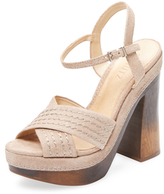 Schutz Edma Block Heel Sandal