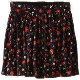 Dolce & Gabbana Back to School Floral Print Skirt (Toddler/Little Kids)