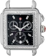 Michele Women's MW06P01A1928 Deco Analog Display Swiss Quartz Silver Watch Head