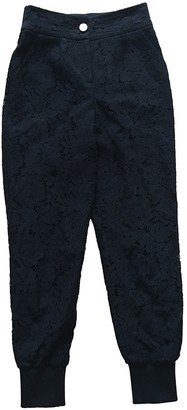 Ted Baker Black Cloth Trousers for Women