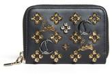 Christian Louboutin Women's Panettone Leather Coin Purse - Black