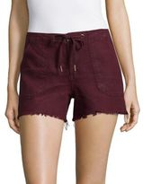 Sanctuary Cut-Off Drawstring Shorts