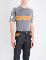 Wales Bonner George striped cotton-jersey T-shirt