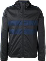 Paul Smith striped detail hooded jacket